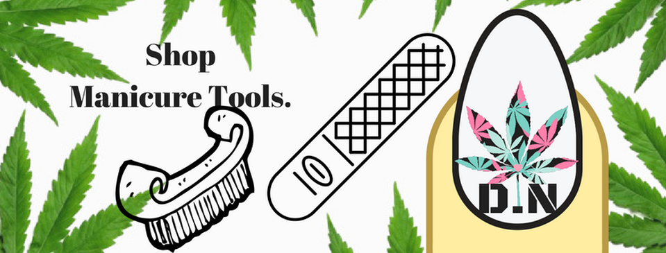 diy manicure tools for potheads